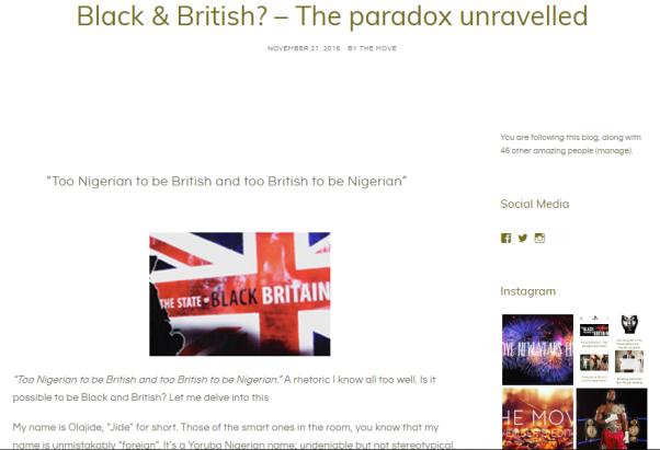 black-and-british